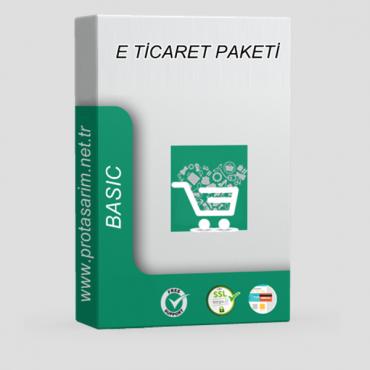 Opencart E-Ticaret Paketi  Basic