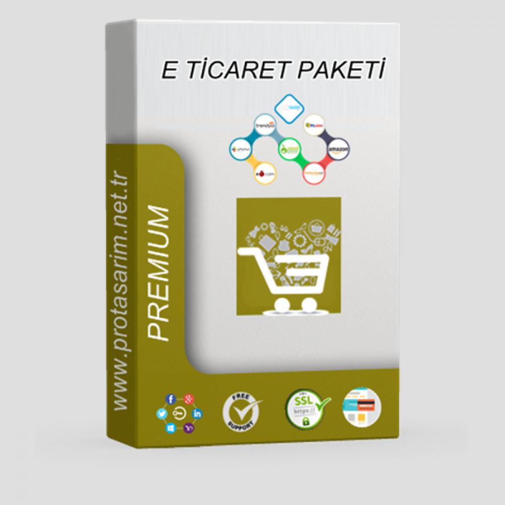 Opencart Premium E-Ticaret Paketi