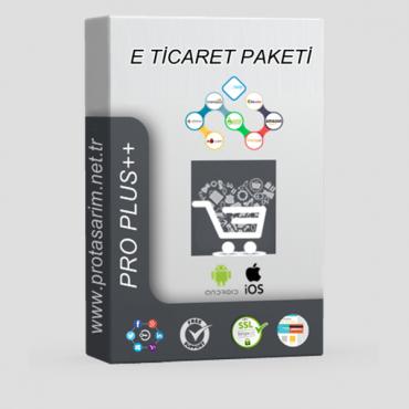 Opencart E-Ticaret Paketi Pro Plus ++