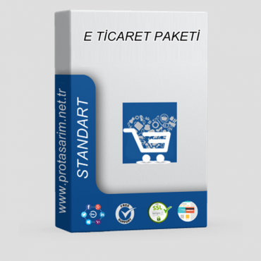 Opencart E-Ticaret Paketi Standart