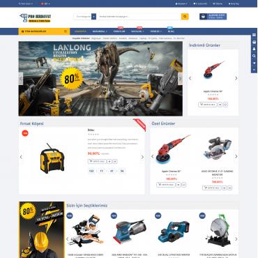 Opencart Oto Yedek Parça Ve Hırdavat Ürünleri 3x Site Teması