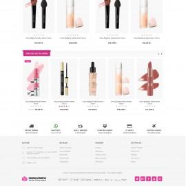 Opencart Kozmetik ve Parfümeri 3x Teması