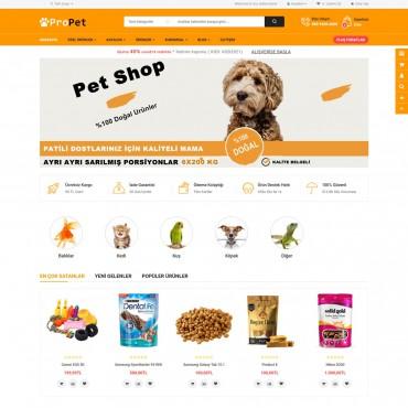 Opencart Petshop Mağaza Site Teması 3.0.3.6