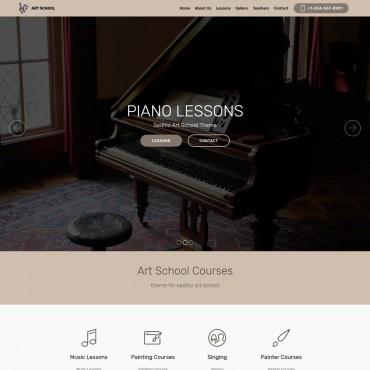 Sanatçı Sanat Okulu Teması