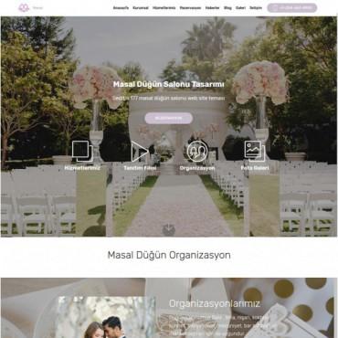 Düğün Restaurant Salonu Masal Teması