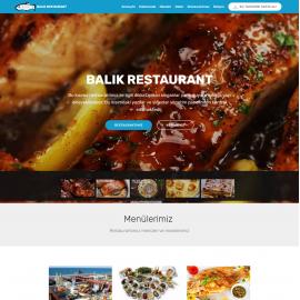 Balık restaurant tasarımı video introlu